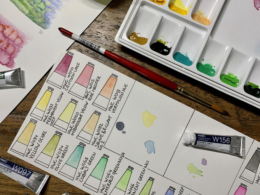 Watercolor Palette - image 4 - student project