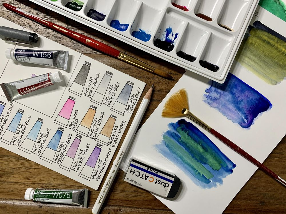 Watercolor Palette - image 5 - student project