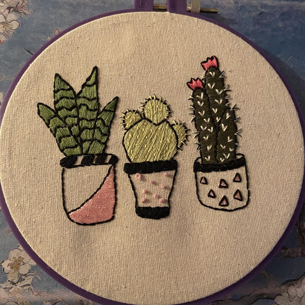 First Embroidery Project - image 1 - student project