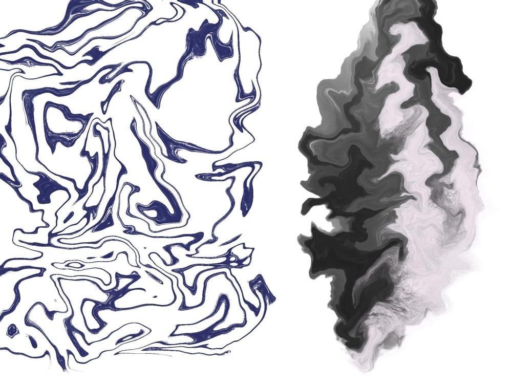 Katina's Psychadelic Marbling - image 2 - student project