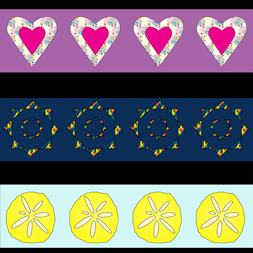 Hearts, Stars and Fruit - image 2 - student project