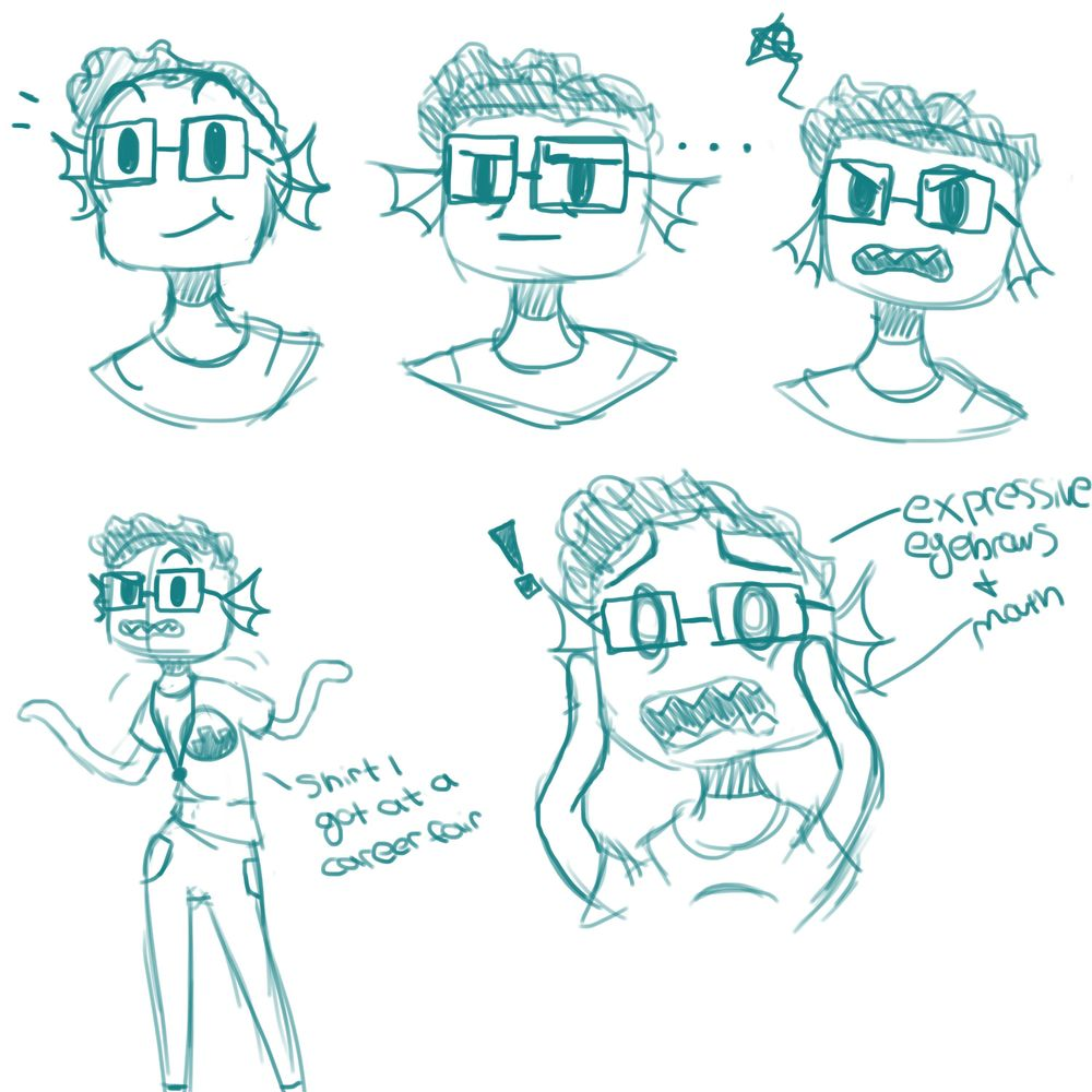 Character Sketches - image 1 - student project