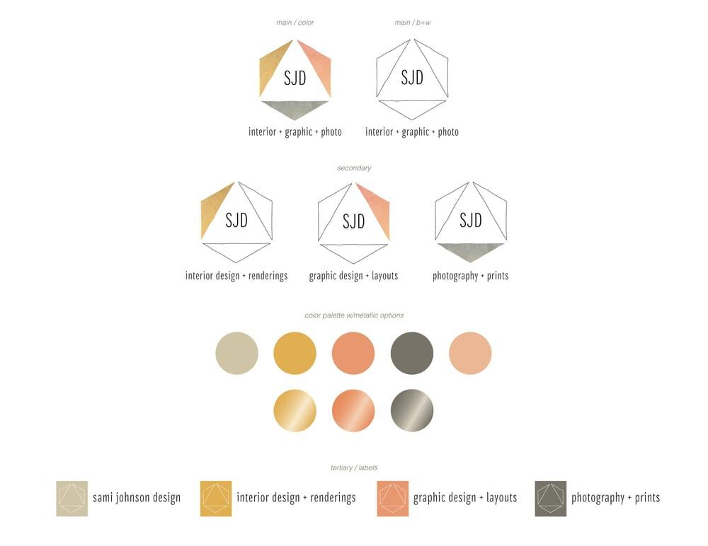 Sami Johnson Design - Logo (re)Design - image 1 - student project