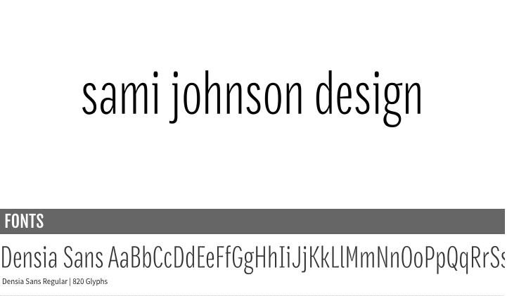 Sami Johnson Design - Logo (re)Design - image 7 - student project