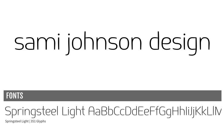 Sami Johnson Design - Logo (re)Design - image 8 - student project