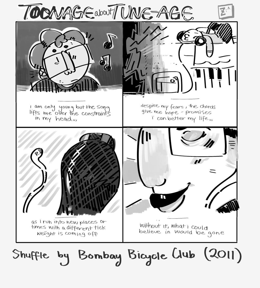 Shuffle by Bombay Bicycle Club - image 1 - student project