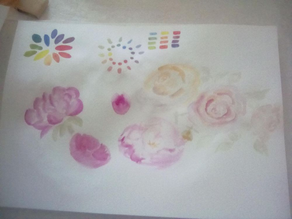 Loose florals - image 7 - student project