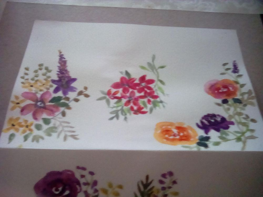 Loose florals - image 1 - student project