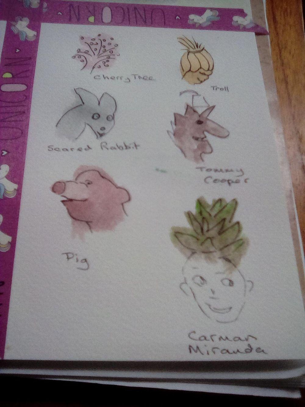 Sketchbook - image 2 - student project