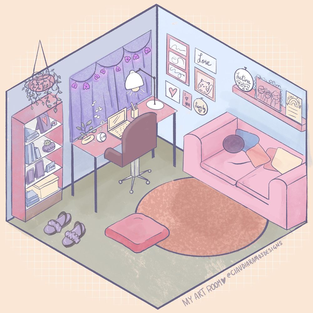 My Cute Living Room - image 1 - student project