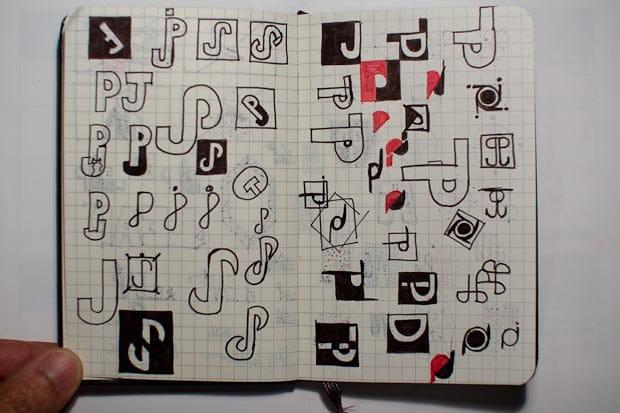 PJ Personal Logo - imagine the jokes! - image 1 - student project