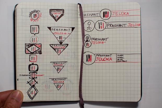 PJ Personal Logo - imagine the jokes! - image 7 - student project