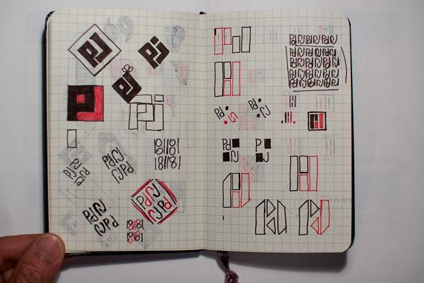 PJ Personal Logo - imagine the jokes! - image 5 - student project