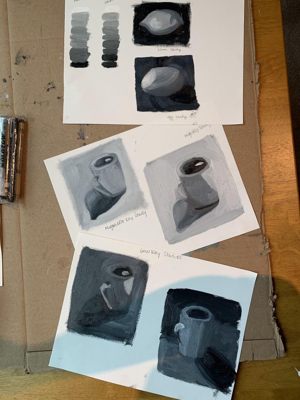 Mug Study - image 1 - student project