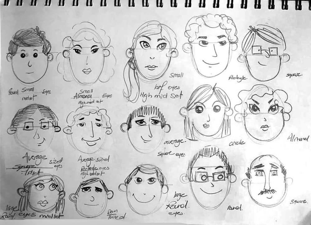 Eye Worksheet - image 1 - student project