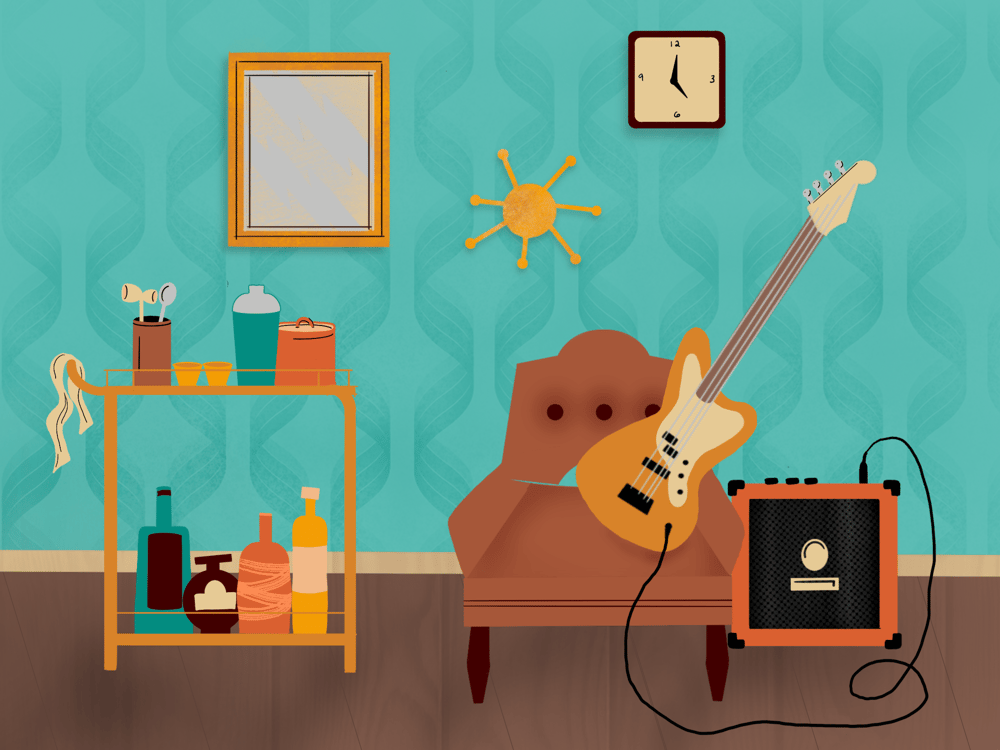 Fun with spaces: 70's Vibes - image 1 - student project