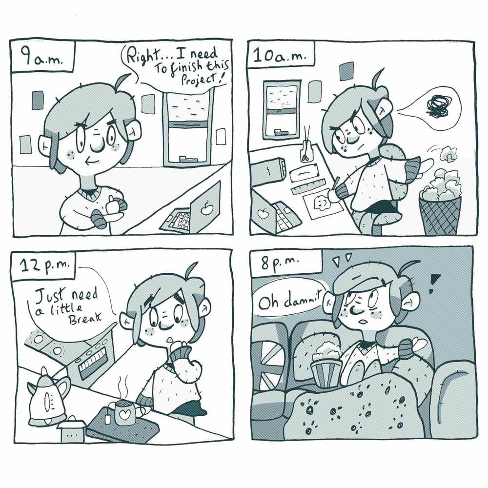 I procrastinate... - image 3 - student project