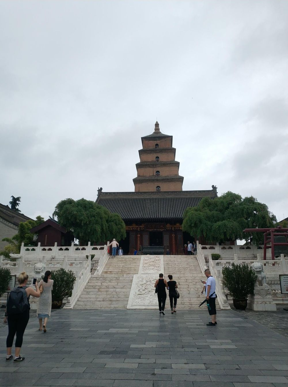 Wild Goose Pagoda - image 2 - student project
