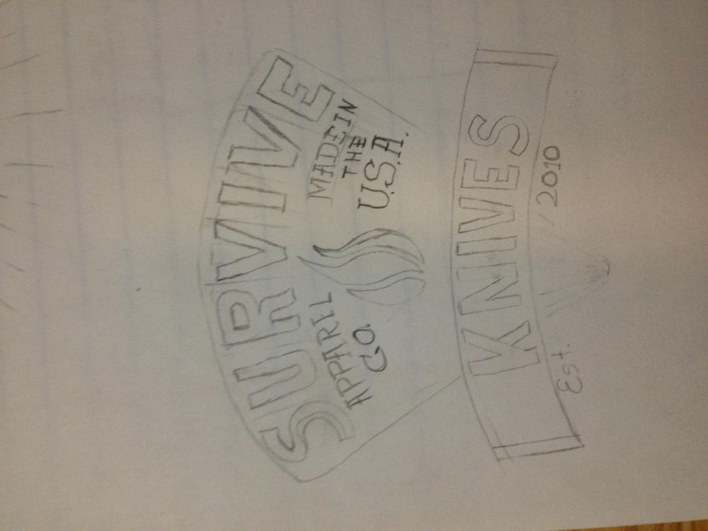 SURVIVE! Knives Apparel - image 17 - student project