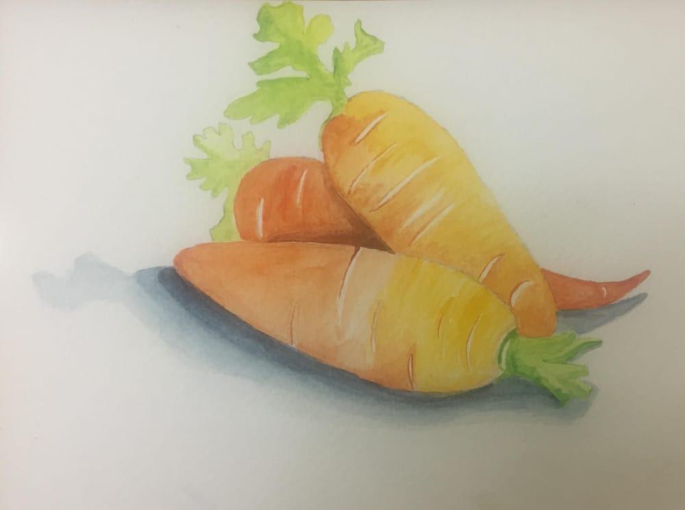 My Beginning Watercolor Portfolio - image 3 - student project