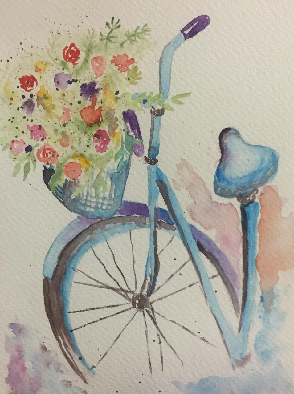 My Beginning Watercolor Portfolio - image 1 - student project