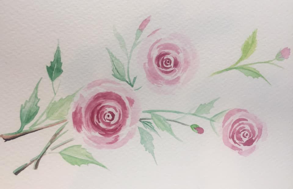 My Beginning Watercolor Portfolio - image 5 - student project