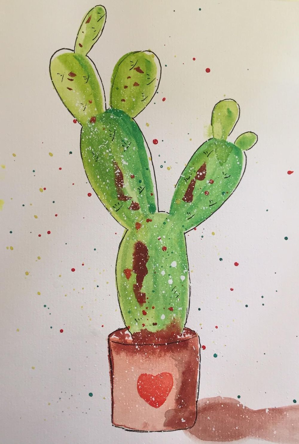 Watercolor and Ink - image 1 - student project