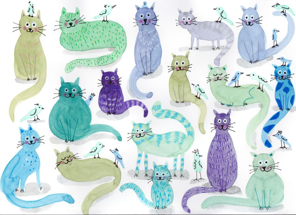 Blue Cats - image 1 - student project