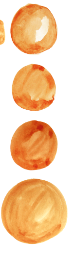 Painted Oranges Pattern - image 3 - student project