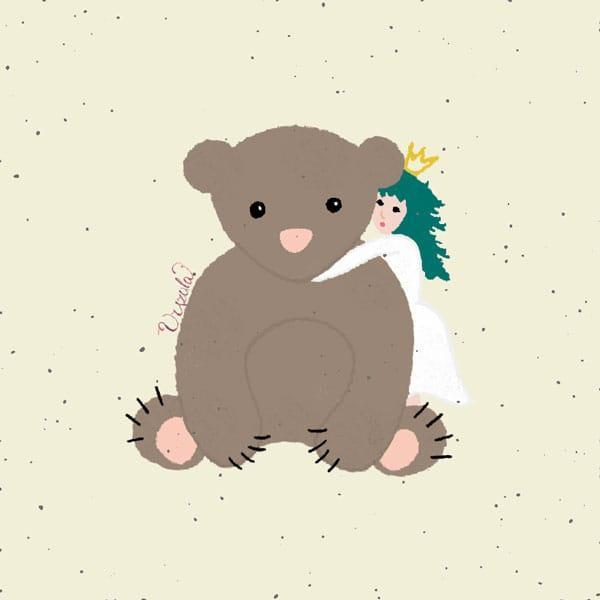 Urszula the little female bear - image 3 - student project