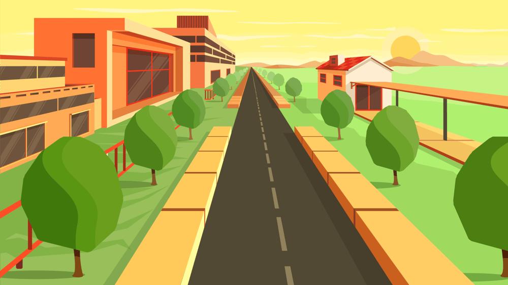 Mastering Adobe Illustrators Perspective Grid Tool - image 3 - student project