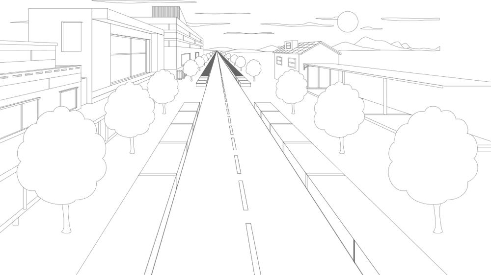 Mastering Adobe Illustrators Perspective Grid Tool - image 2 - student project