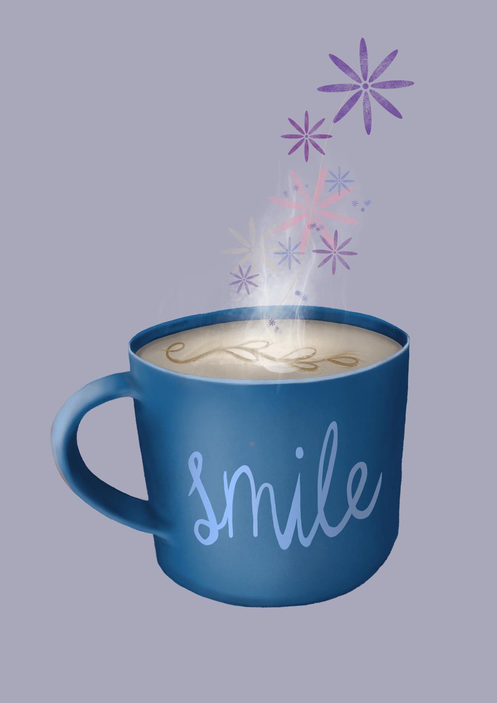 Motivational coffee mug - image 1 - student project