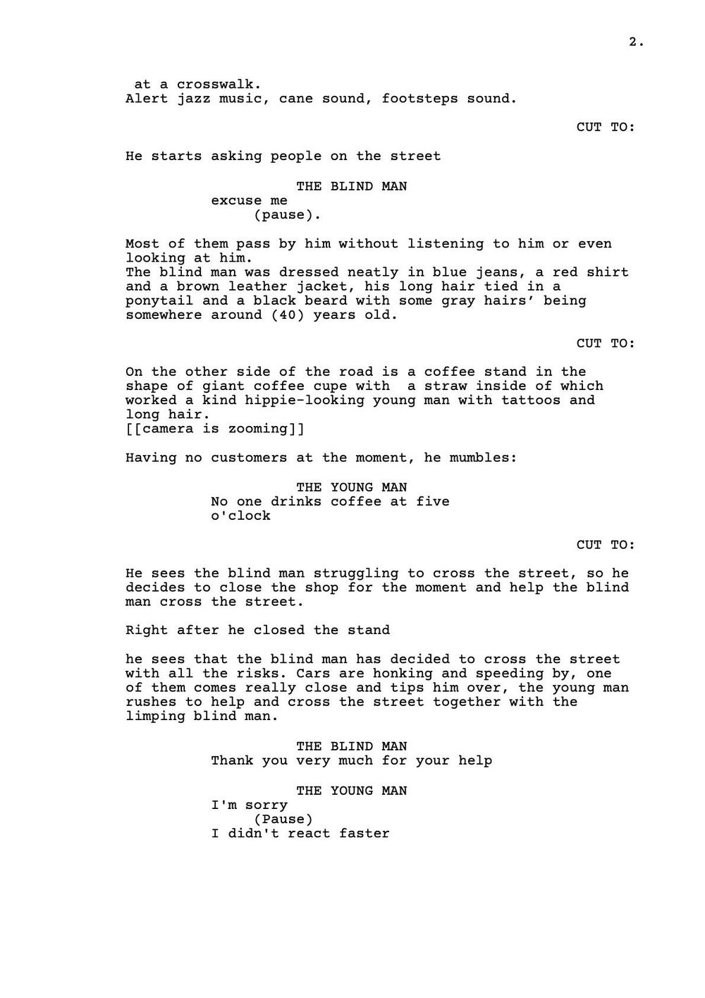 SCREENPLAY DRAFT - image 3 - student project