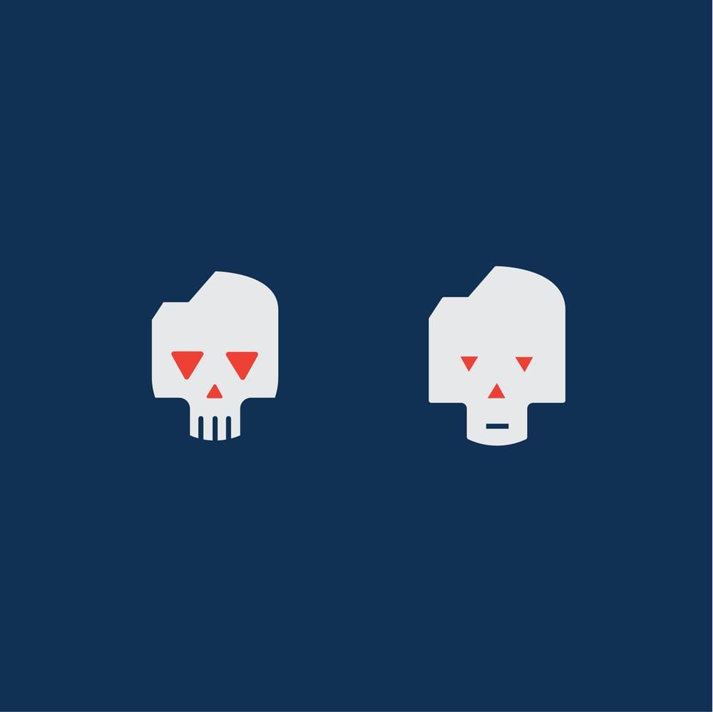 Monoline Cats & Skulls - image 4 - student project