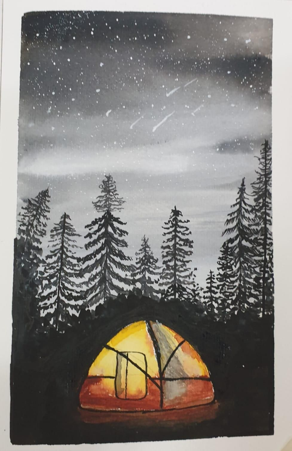 camp under the stars - image 2 - student project