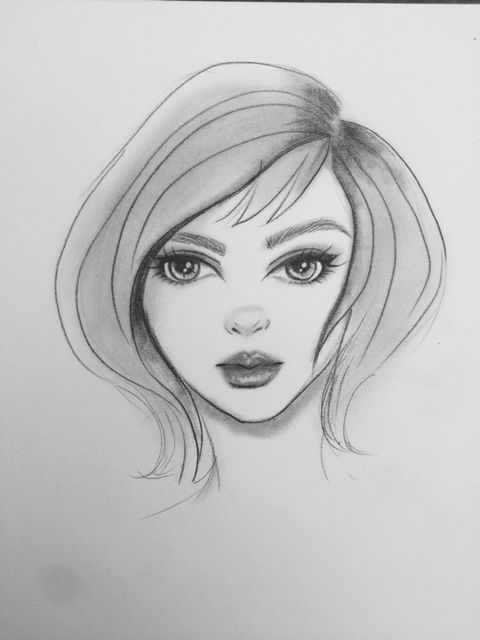 Building a female character - image 3 - student project
