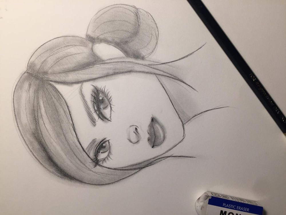 Building a female character - image 5 - student project