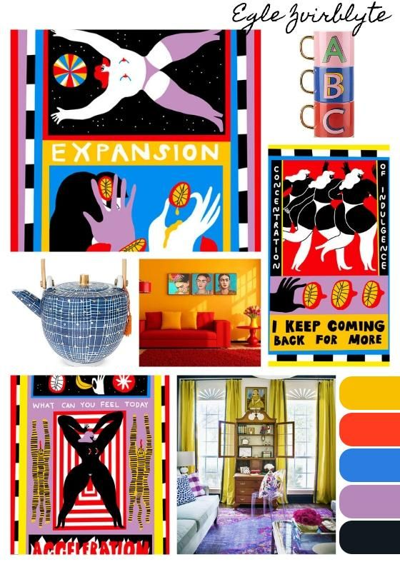My Digital Colour Boards - image 2 - student project