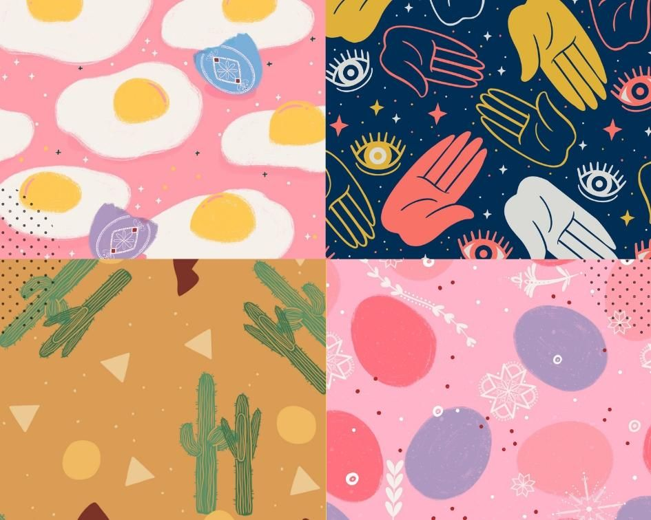 Spoonflower Patterns! - image 1 - student project