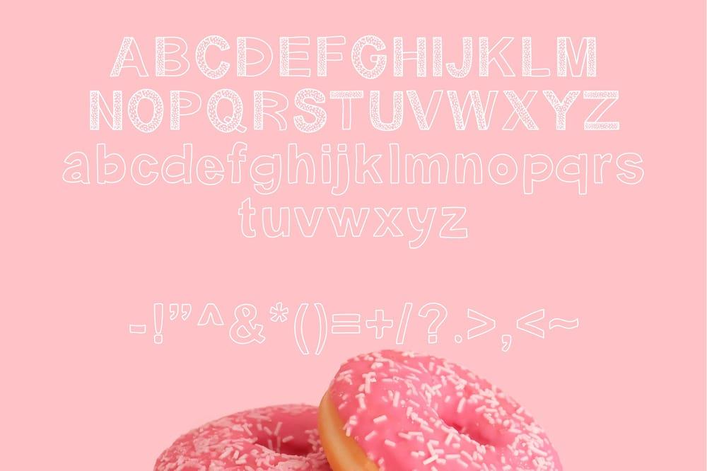 Three Shiny New Fonts - image 4 - student project