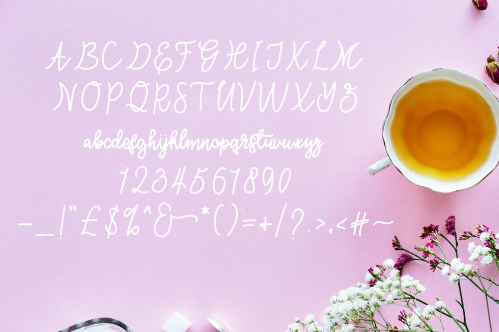 Three Shiny New Fonts - image 6 - student project
