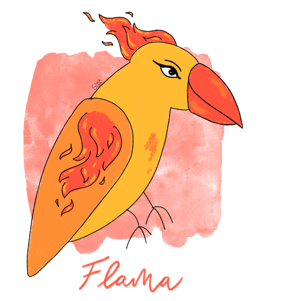 Flama - image 1 - student project