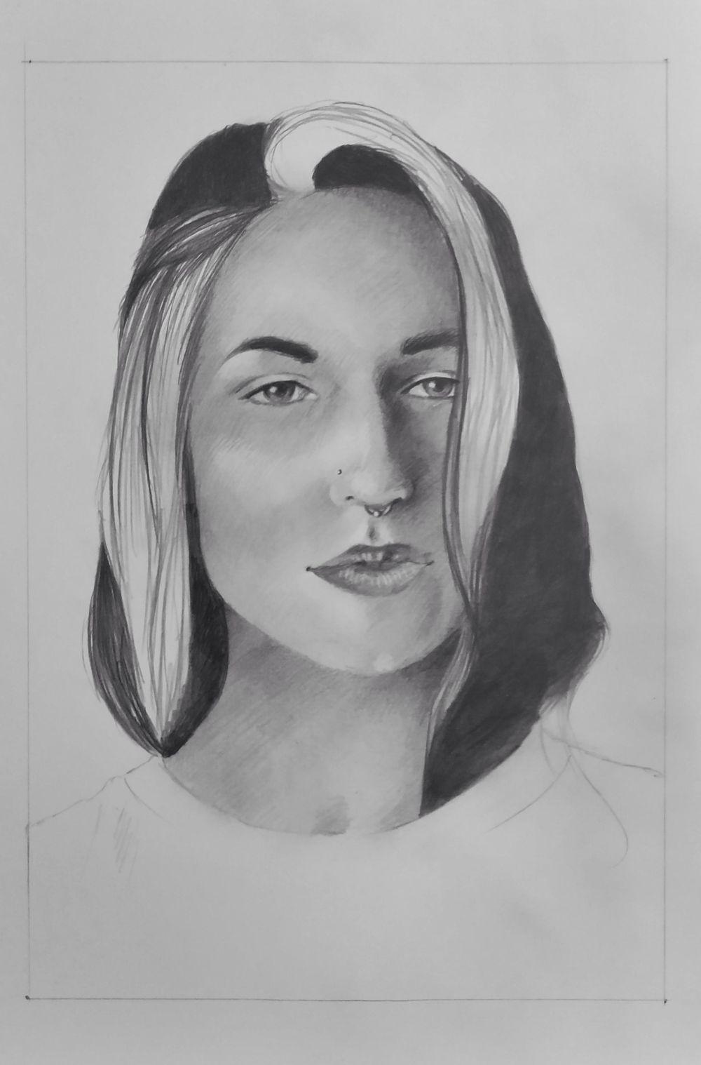 Face Portrait - image 1 - student project