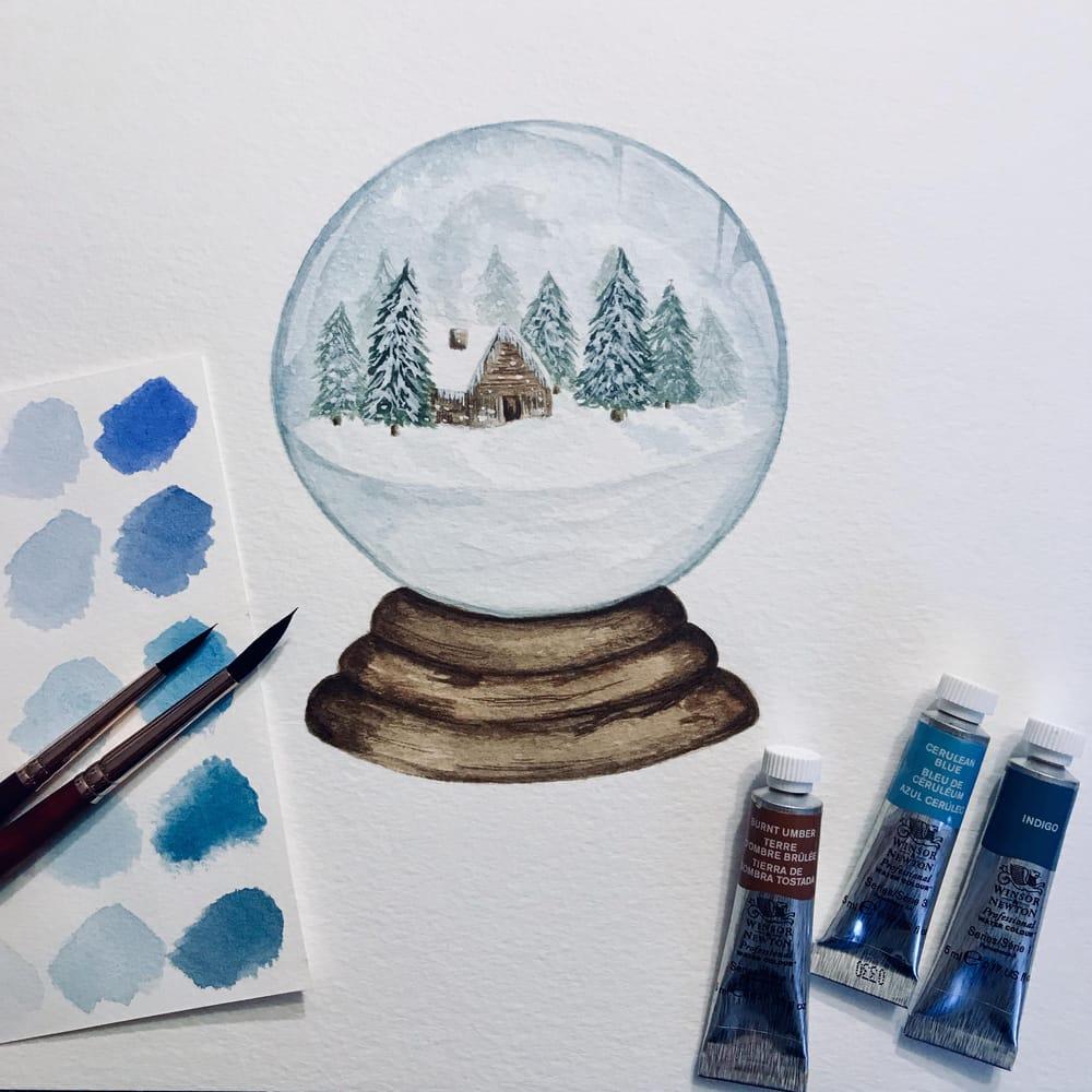 Snow Globe No. 1 - image 1 - student project