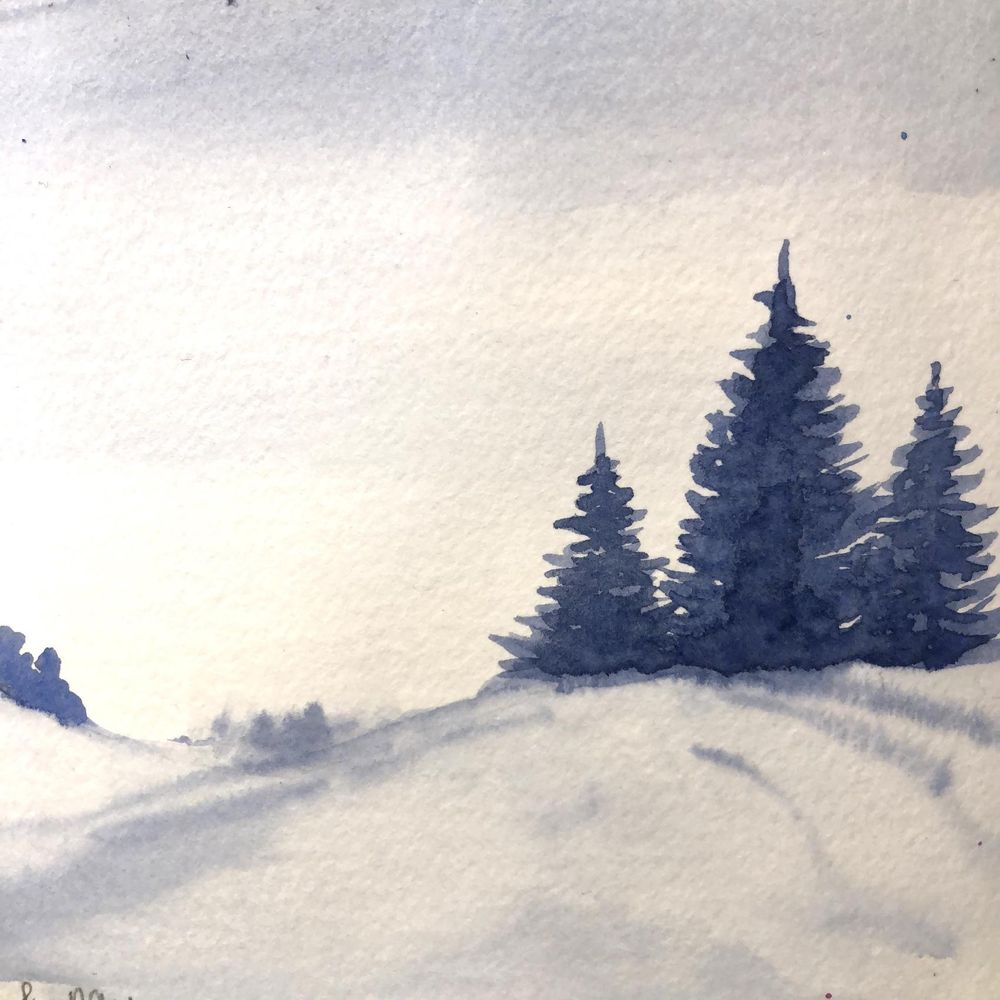 Watercolor Freestyling - image 3 - student project