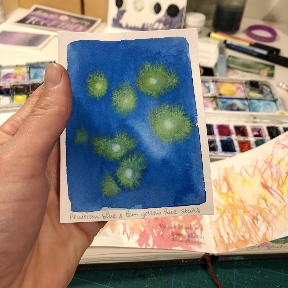 Watercolor Freestyling - image 2 - student project