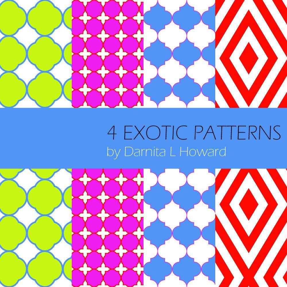 Bright Exotic Patterns - image 1 - student project