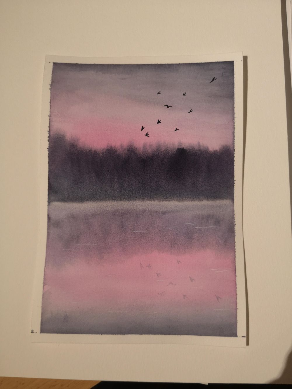 Misty Morning & Sunset at the Beach - image 2 - student project