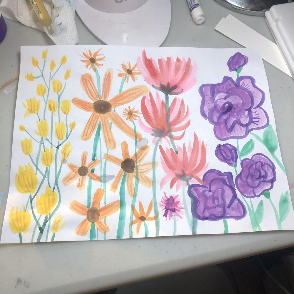 Intuitive Painting Class - image 1 - student project